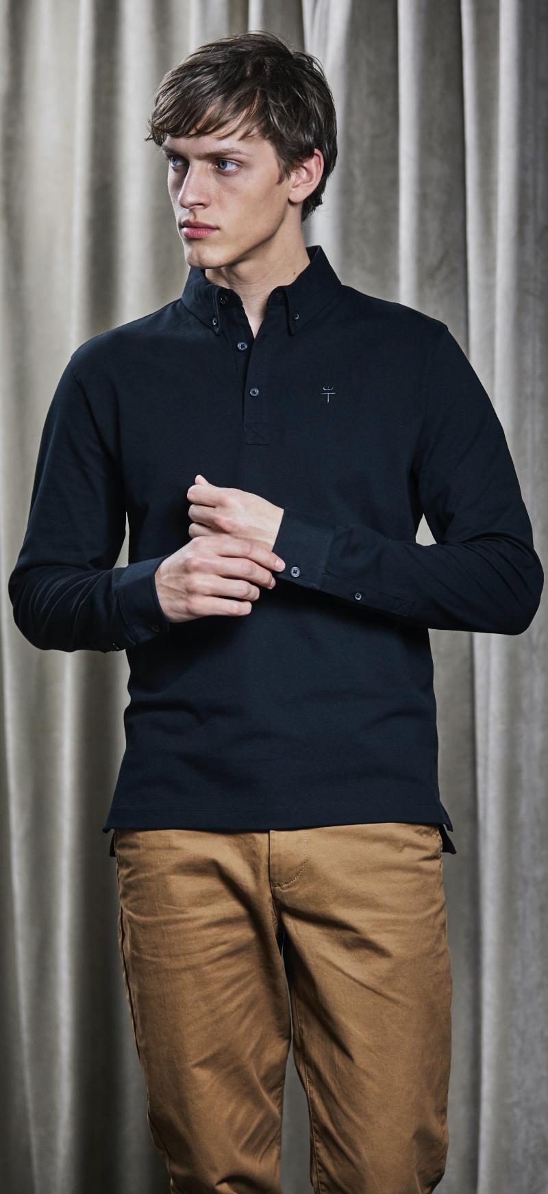Signature Fashion LS Luxury Stretch Polo