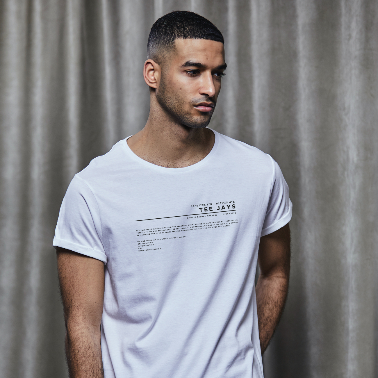 History Roll-Up Tee